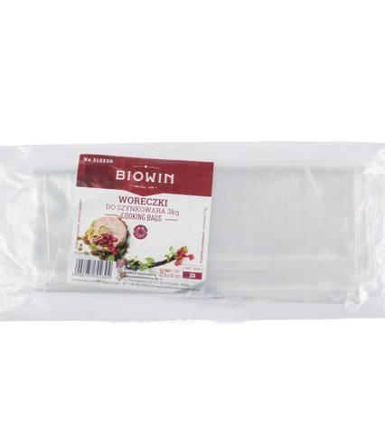 Biowin Sáčky do šunkovaru 22x32,5 cm / 3l /20ks