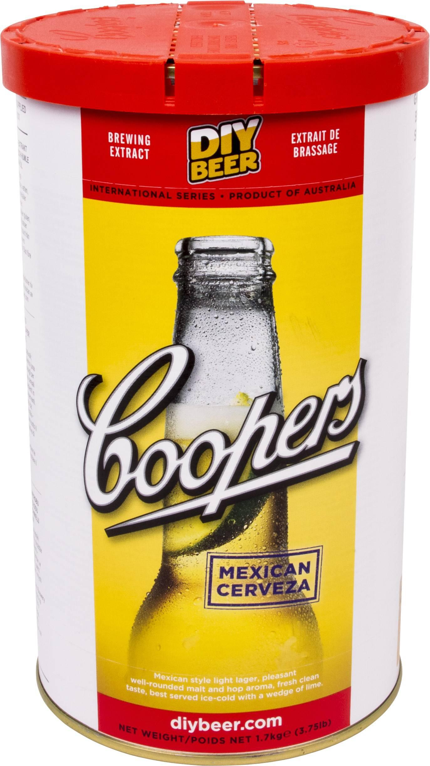 Směs na výrobu domácího piva Mexican Cerveza 1,7kg - BIOWIN