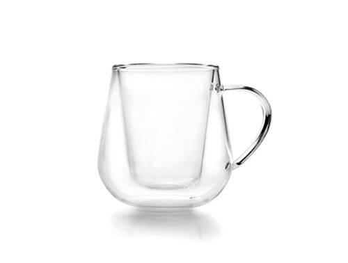 Speciální silnostěnné šálky na kafe nebo čaj 2ks 100ml - Ibili