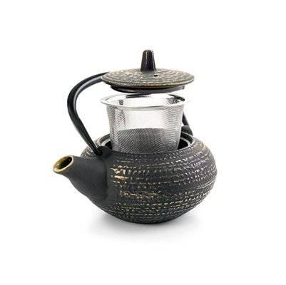 Litinová konvička na čaj Osaka 400ml - Ibili