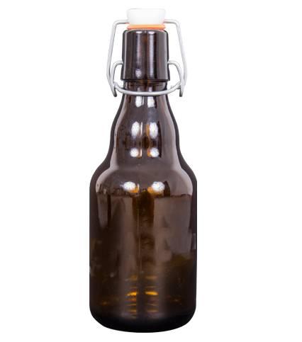 Láhev na pivo s uzávěrem 330ml - BIOWIN