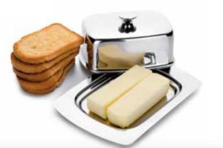 Dóza na máslo nerezová 19x12cm - Ibili