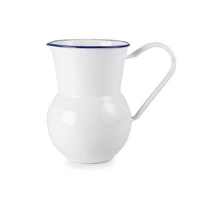 Smaltovaný džbán na vodu bílý - Ibili
