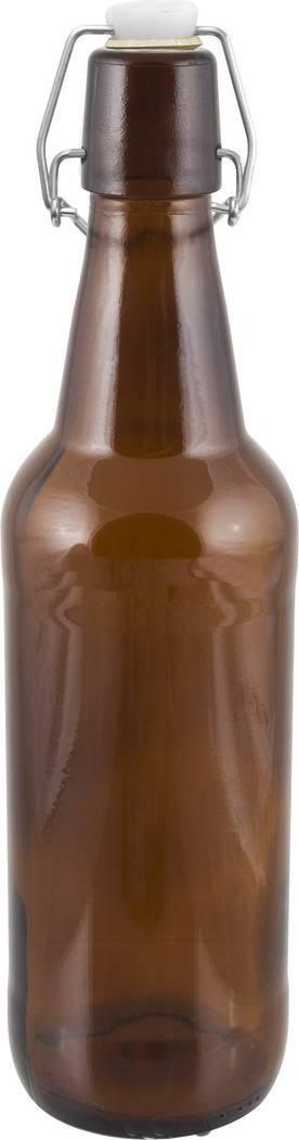 Láhev na pivo s uzávěrem 0,5l - BIOWIN
