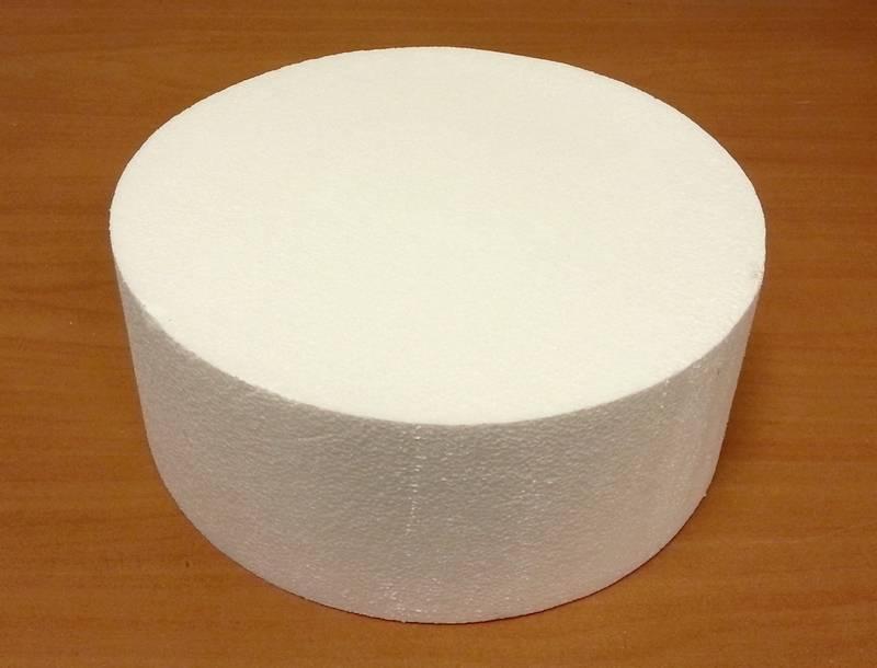 Polystyrenová maketa kruh 15 cm -