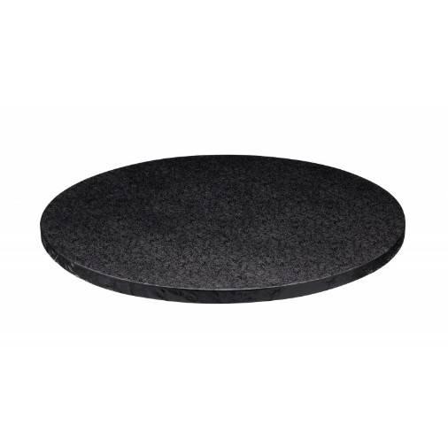 Podložka pod dort černá 25cm - Decora