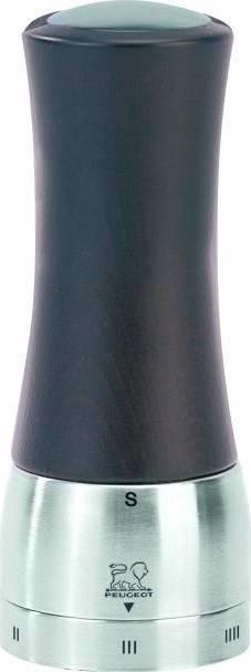 MADRAS mlýnek na sůl 16 cm čokoládový/nerez 25212 Peugeot