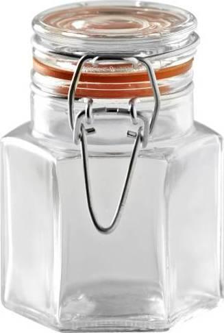 zavařovací sklenice s klipem hexagon 0,08l 0025.468 Kilner