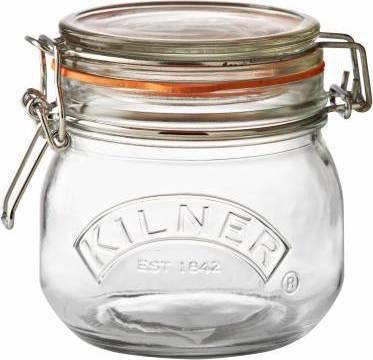 zavařovací sklenice s klipem kulatá 0,5l 0025.490 Kilner