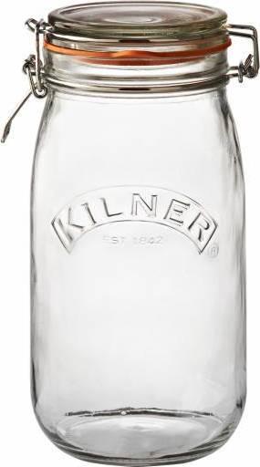 zavařovací sklenice s klipem kulatá 1,5l 0025.492 Kilner