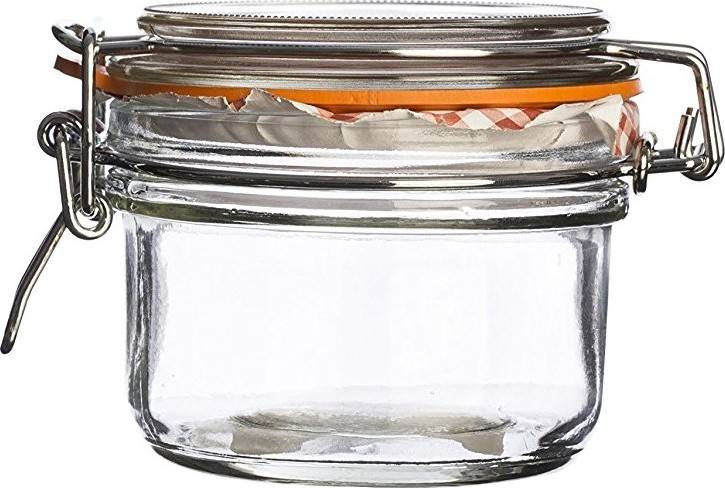 zavařovací sklenice s klipem kulatá 0,125l 0025.496 Kilner