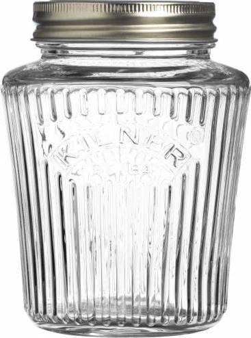 zavařovací sklenice s víčkem 0,5l fasetový design 0025.707 Kilner