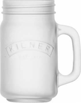 džbánek z mléčného sklad 0,4l bílý 0025.847 Kilner
