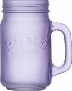 džbánek z mléčného skla 0,4l fialový 0025.849 Kilner