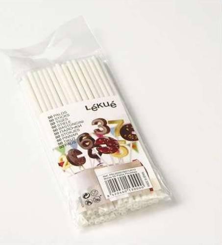 Plastove spejle na cukrovinky, 50 ks PAL00001B01U012 Lékué