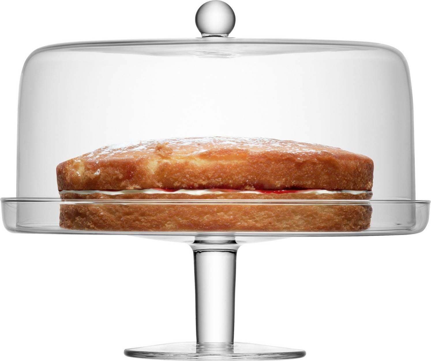LSA Klara stojan na dorty s poklopem, průměr 33cm, Handmade G914-33-301 LSA International