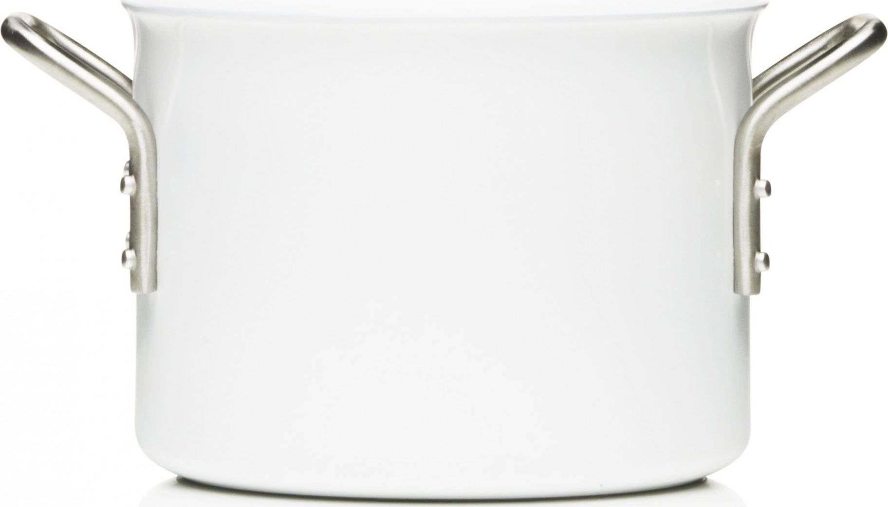Kastrol s keramickým povrchem 16 cm, bílá, 256620 eva solo