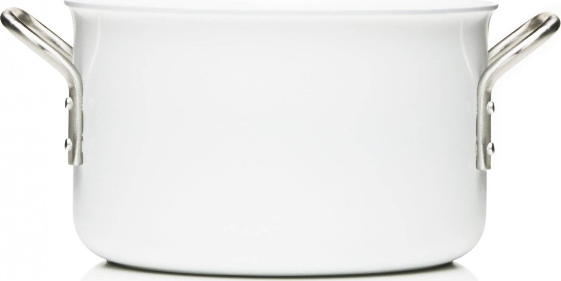 Kastrol s keramickým povrchem 20 cm, bílá, 256632 eva solo