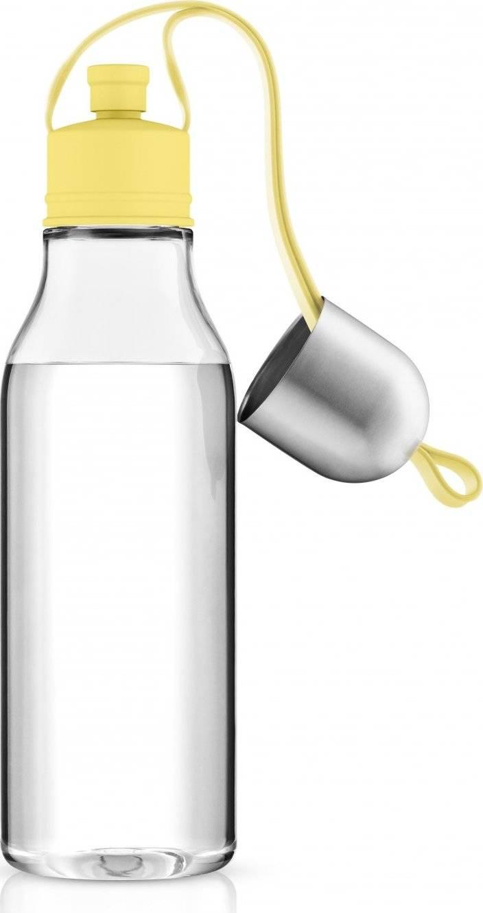 Sportovni lahev 0,7l, zlute poutko, eva solo