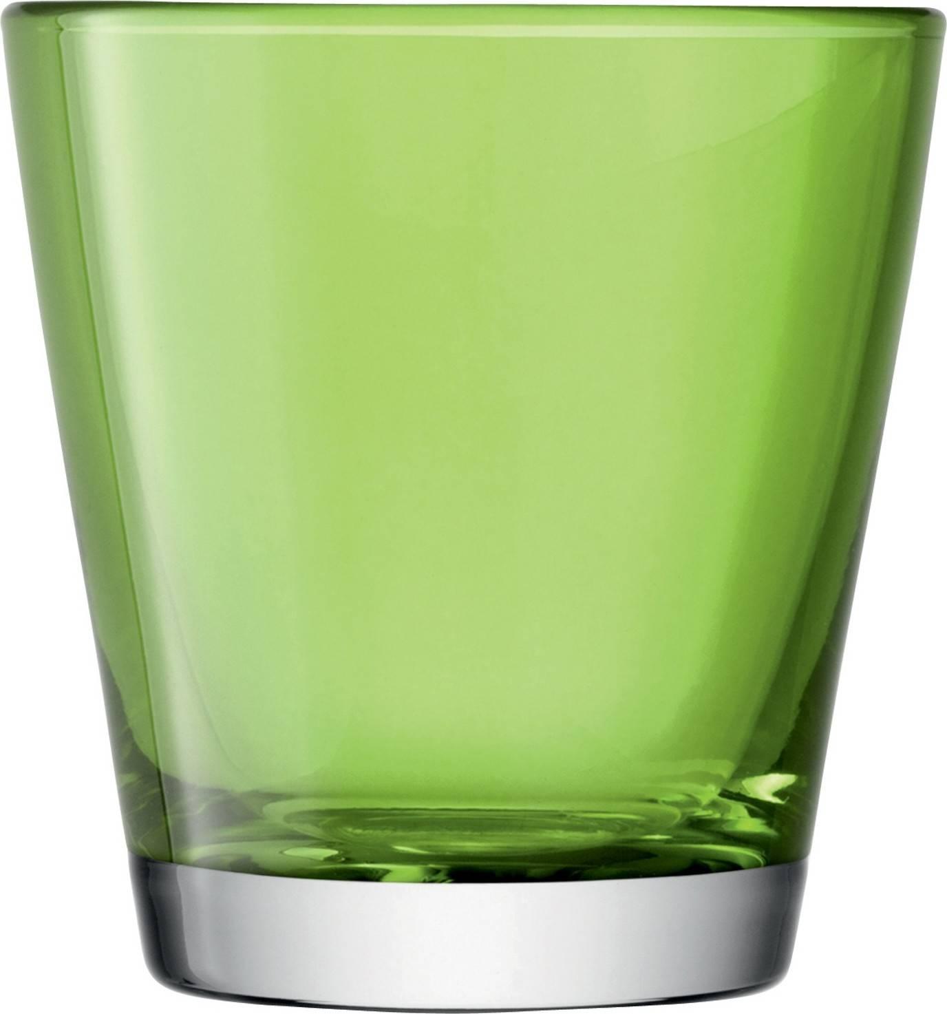 LSA Asher sklenice zelená, 340ml, Handmade G005-09-834 LSA International