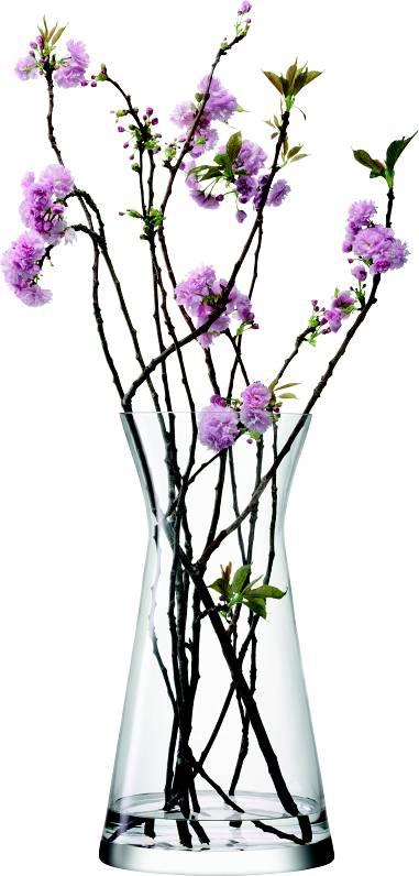 LSA Flower skleněná váza vysoká na květinová aranžmá, 60 cm, čirá, Handmade G1037-60-301 LSA International