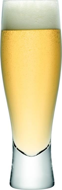 LSA Bar sklenice na pivo 400ml, set 4ks LSA International + dárek k nákupu