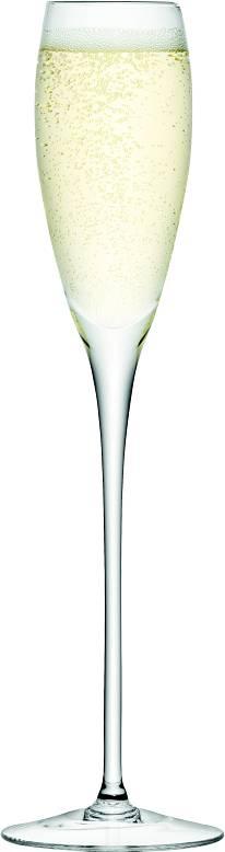 LSA Wine sklenice na sekt 200ml, Set 4ks, Handmade G279-07-991 LSA International