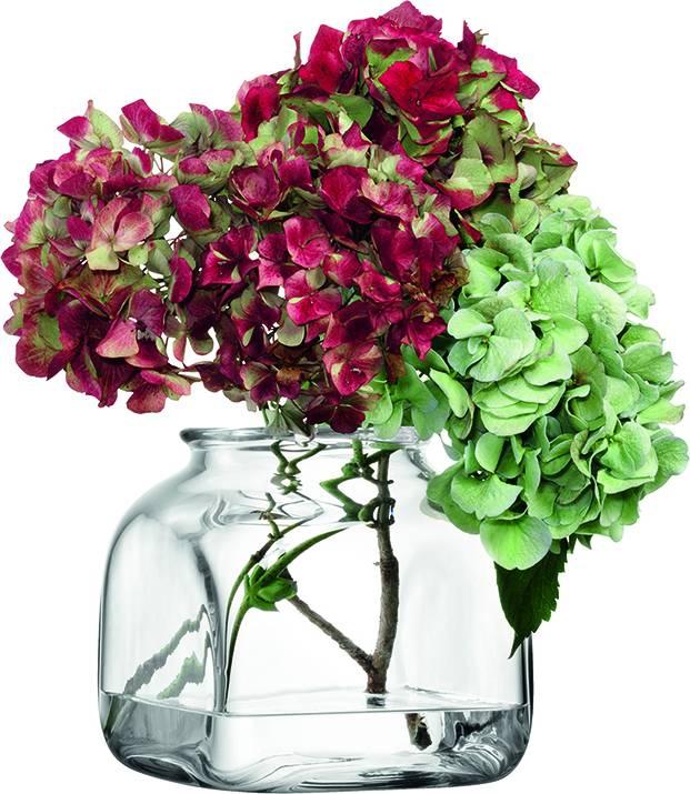 LSA váza skleněná Umberto, 15 cm, čirá, Handmade G294-15-301 LSA International