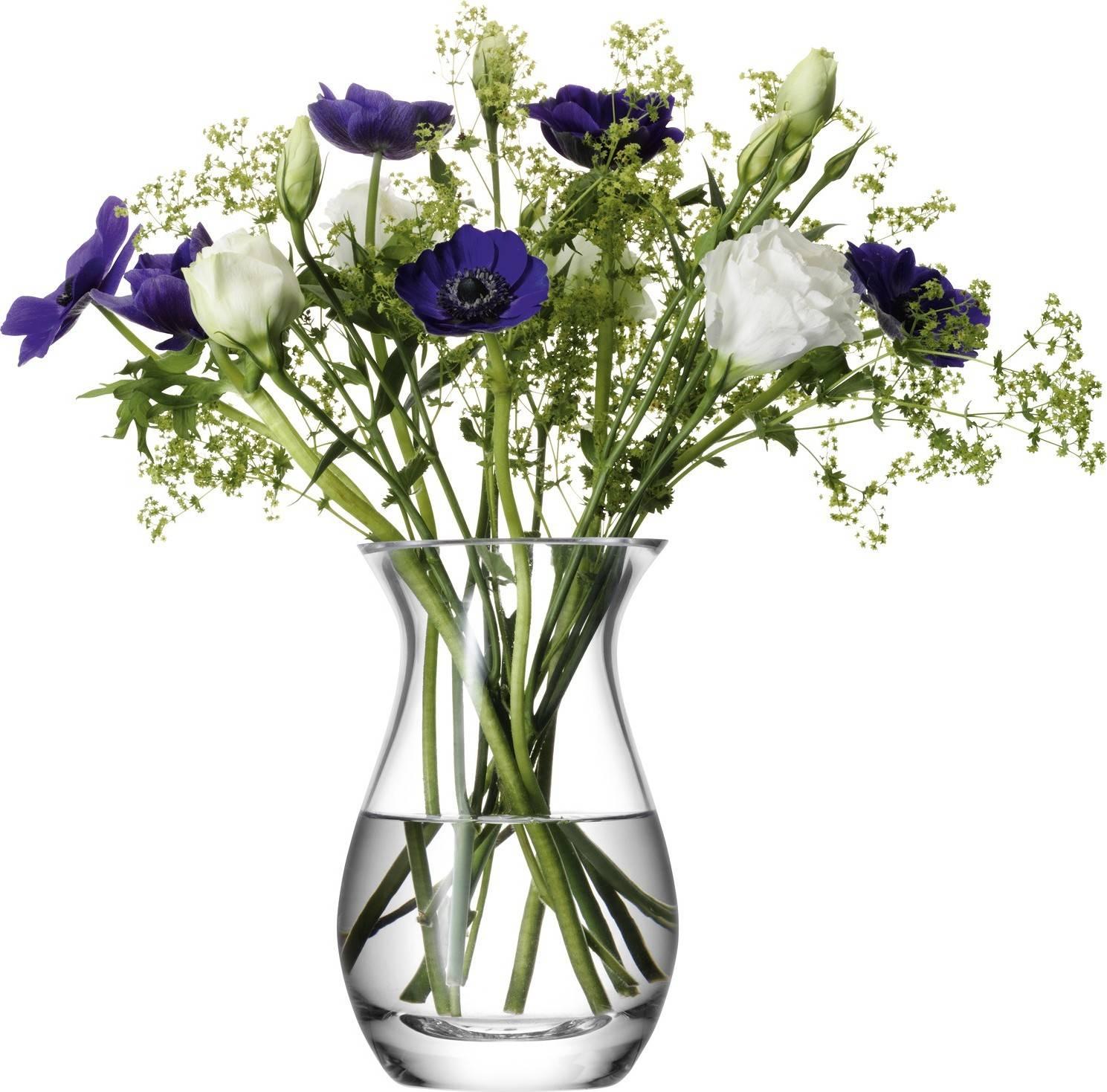 LSA Flower Posy  skleněná váza, 17.5cm, čirá, Handmade G584-18-301 LSA International