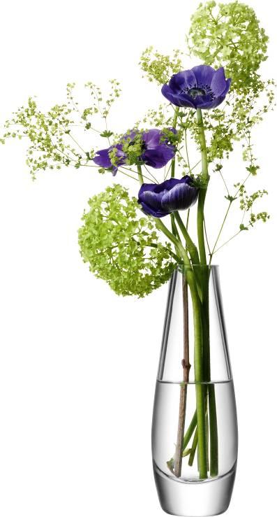 LSA Flower Single stem váza  skleněná 17cm čirá, Handmade G612-17-301 LSA International