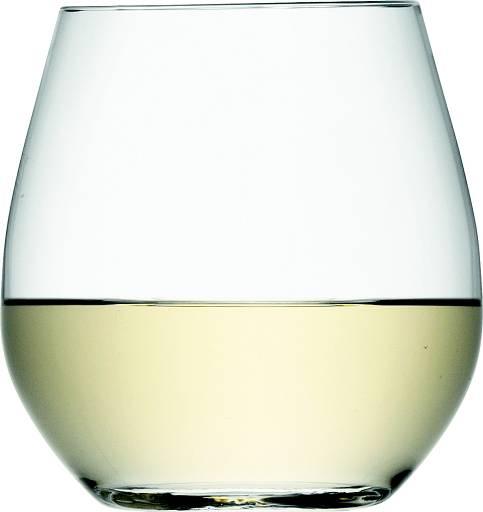 LSA Wine sklenice na bílé víno 370ml, Set 4ks, Handmade G887-13-991 LSA International