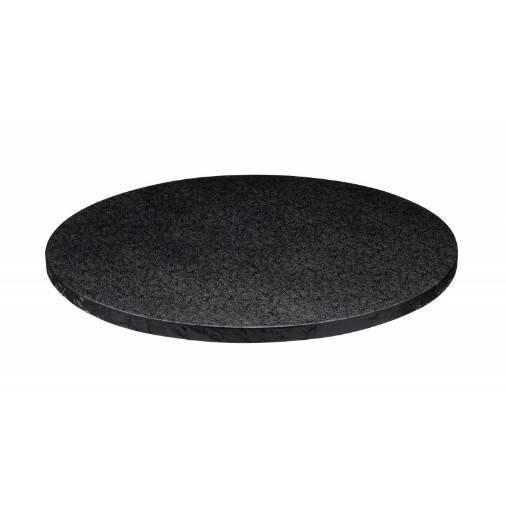 Podložka pod dort černá 30 cm - Decora