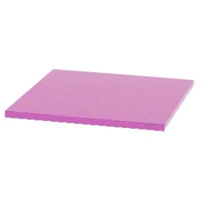 Podložka pod dort čtvercová růžová 20x20cm - Decora