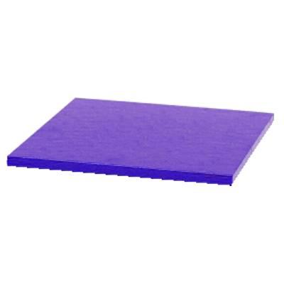 Podložka pod dort čtvercová fialová 20x20cm - Decora