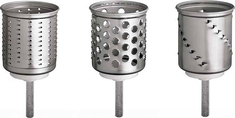 Doplňkové krouhací bubny k MVSA (jemné,julienne,bramborák) - Ostatní