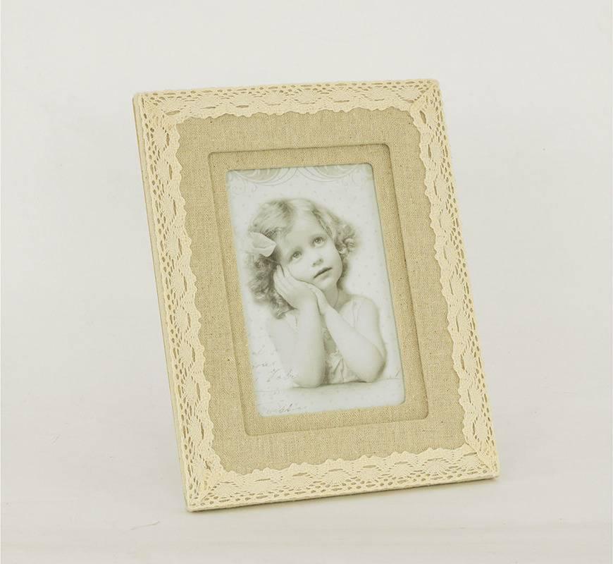 Fotorámeček s krajkou, pro rozměr fota 10x15cm. ARD744687 Art