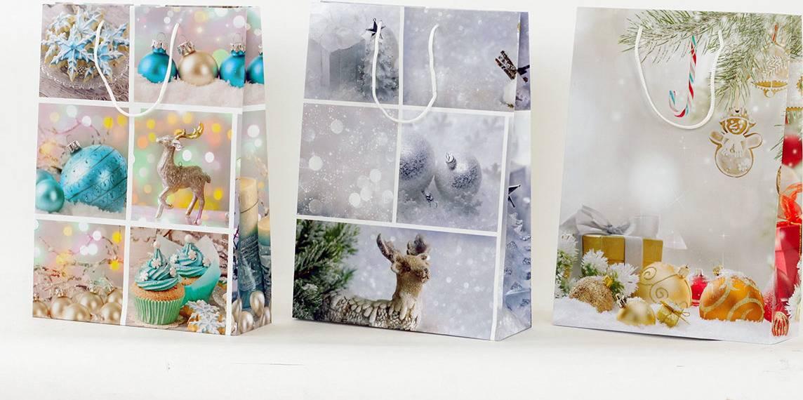 Taška dárková papírová - XL, vánoční motiv AUT124-XL Art