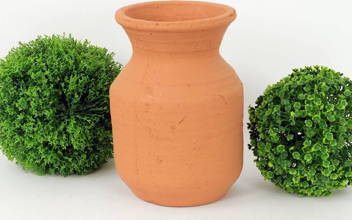 Váza betonová, barva oranžová BCO799687 Art