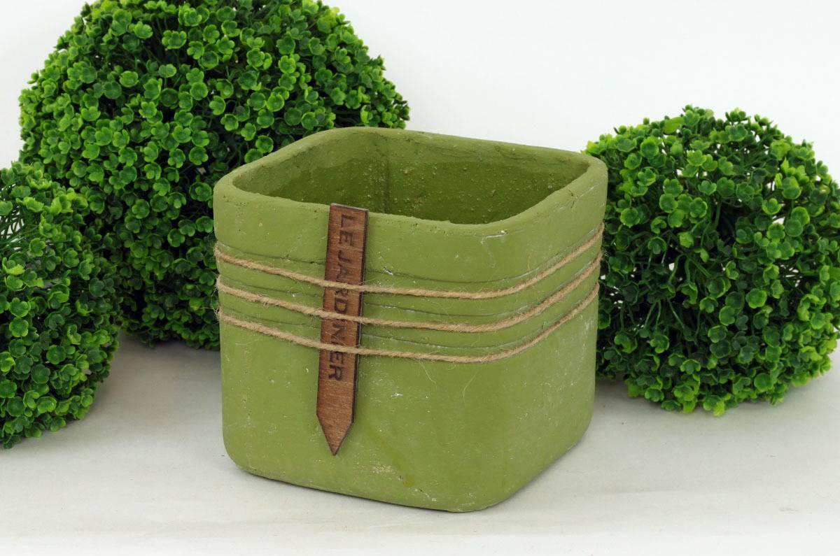 Obal betonový, barva zelená BCO799694 Art