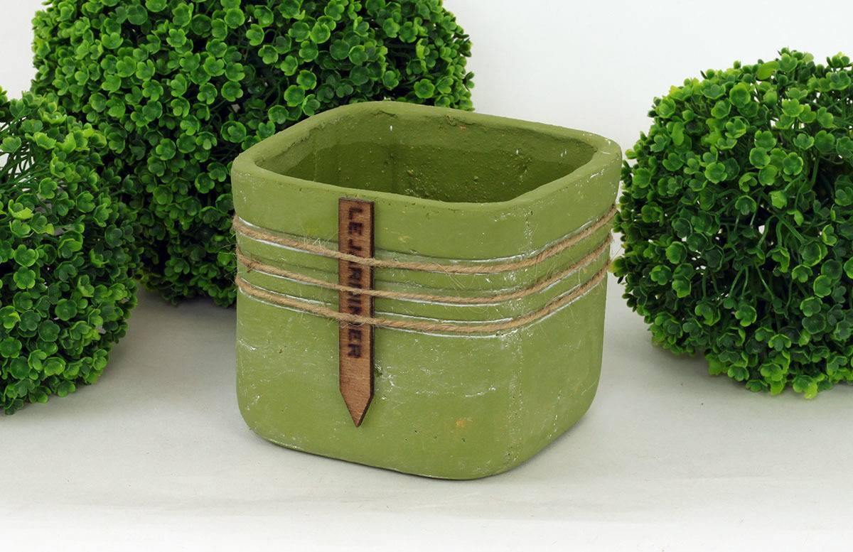 Obal betonový, barva zelená BCO799700 Art