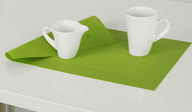 Autronic Prostírání plastové - zelená 30x45cm