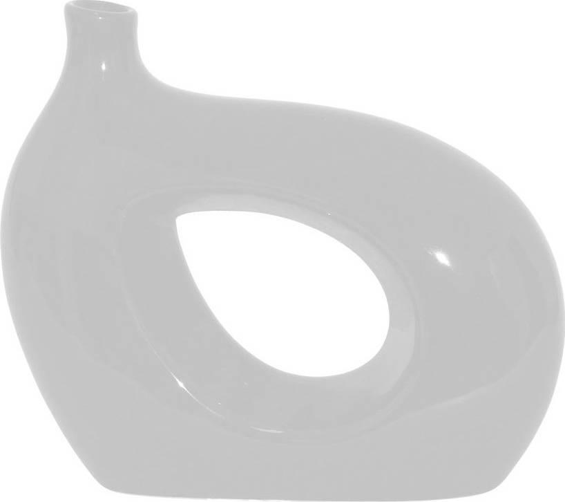 Váza keramická bílá HL667276 Art