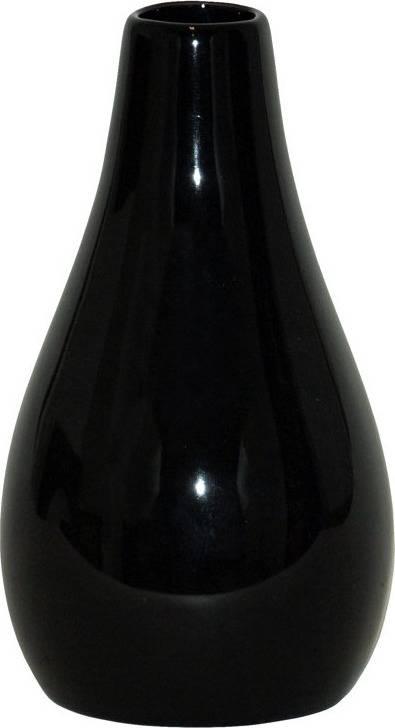 Váza keramická černá HL667450 Art