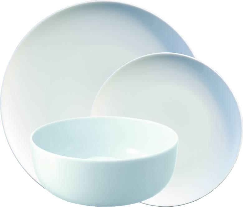 LSA Dine porcelánový jídelní servis, set 12 ks bílý P215-00-997 LSA International
