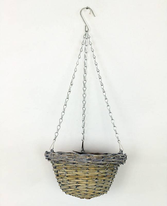 Závěsný košík, šedivá barva JP0001 GREY Art