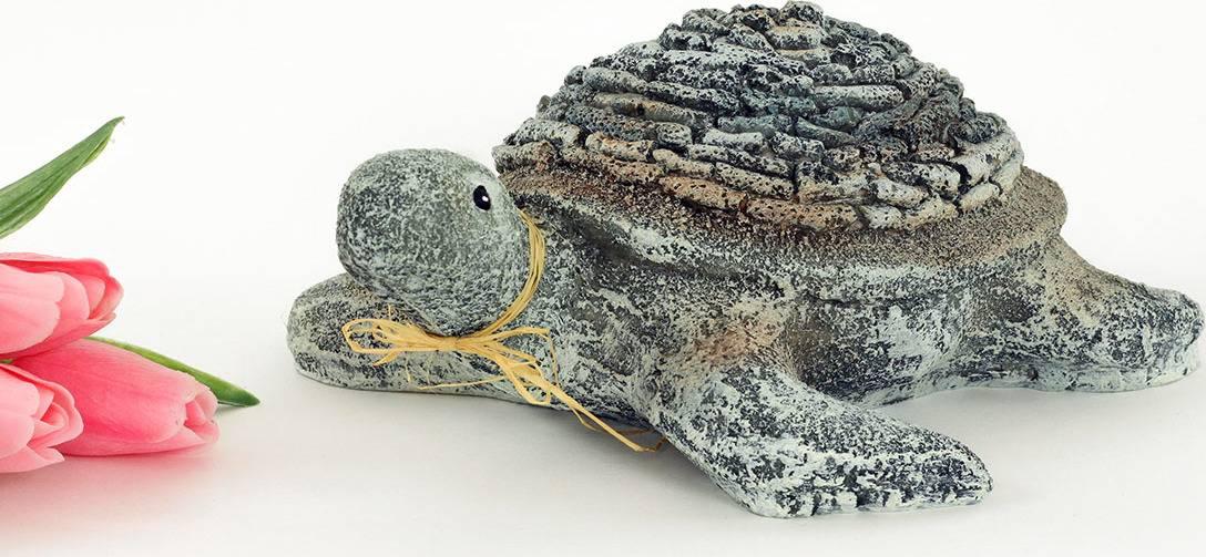 Želva,MgO keramika s kamínky, zahradní dekorace KEM7869 Art
