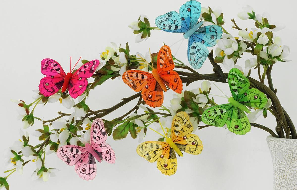 Motýl s klipem, cena za 12ks tj.1 box MO809546 Art