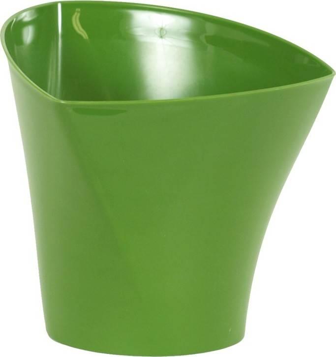 Obal na květiny plastový - barva zelená PLP003-17 GRN Art