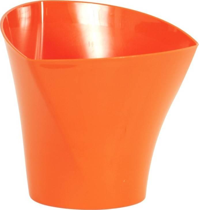 Obal na květiny plastový - barva oranžová PLP003-17 ORA Art