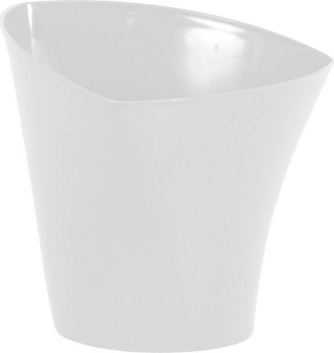 Obal na květiny plastový - barva bílá PLP003-17 WH Art